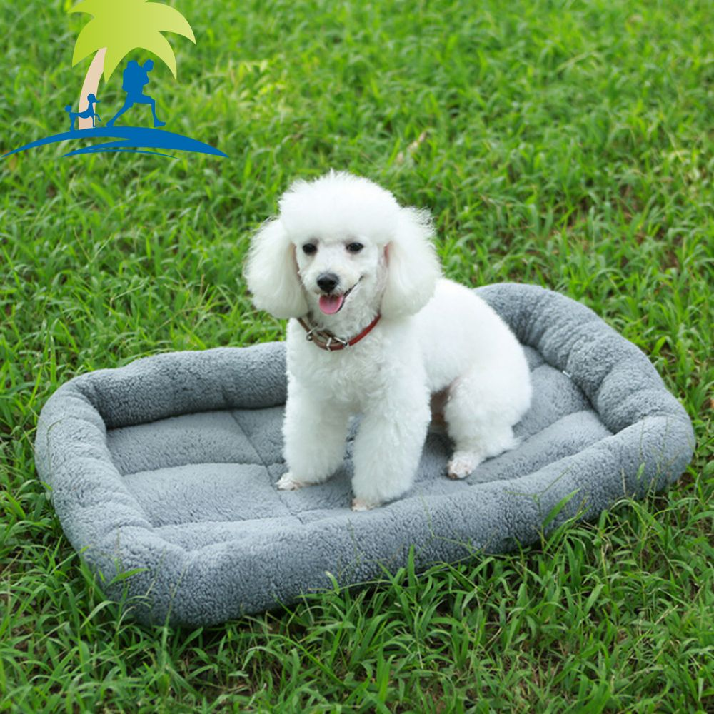 Lovoyager A100 New Autumn and Winter Extra Thick Warm Lamb Velvet Anti-Slip Breathable Dog Nest