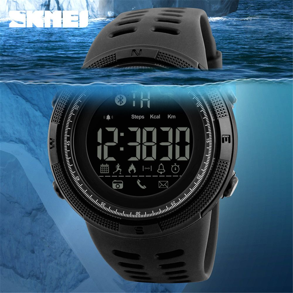 Beauty Fashion Men At All Times The Trend of Electronic Outdoor Sports Student Watches