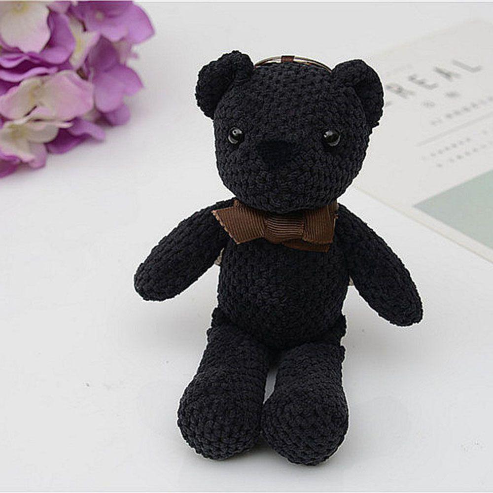 Fashionable Toy Bear Key Chain Bag Accessories