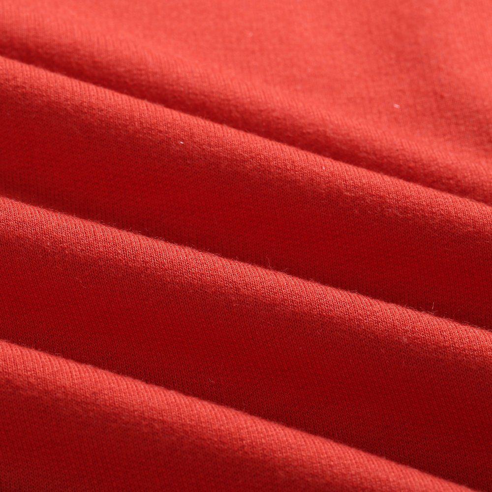 Women Casual Patchwork Sweatshirt Long Sleeve Loose