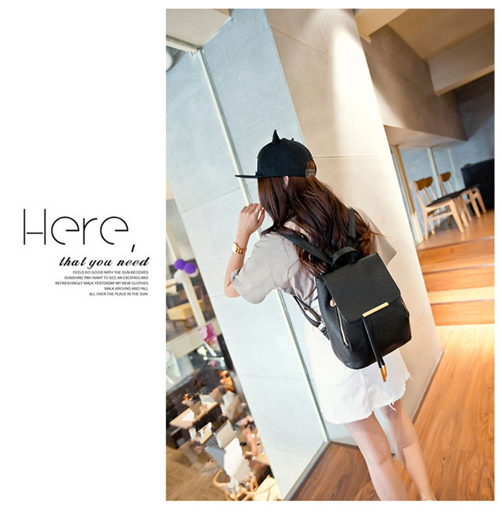 Spring and Summer New Backpack College Wind Student Backpack Tide Fashion Lady KLY8853