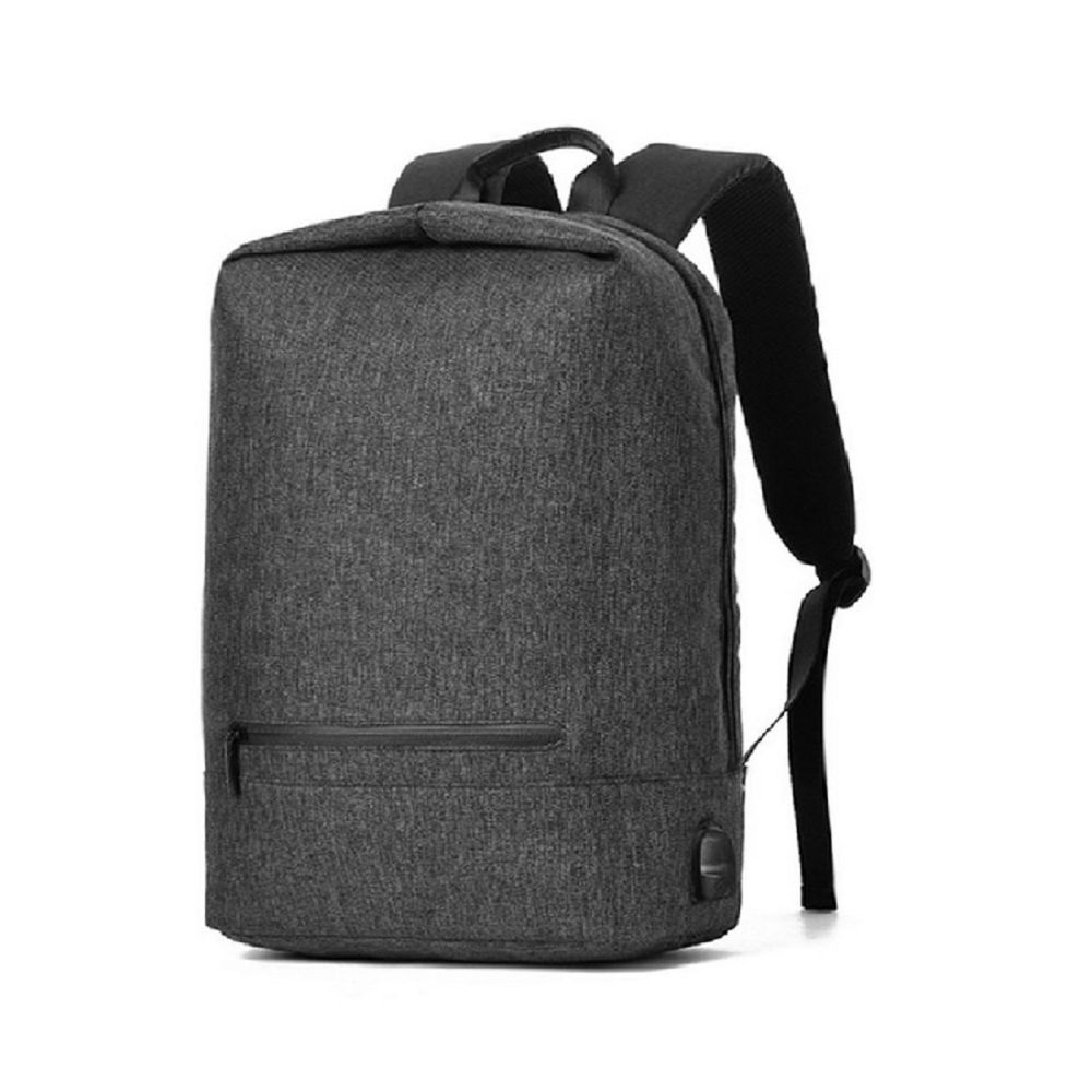 Men Waterproof Canvas 14 Inch Laptop Backpack