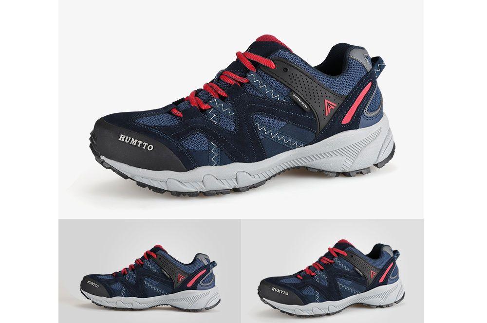 HUMTTO Outdoor Trekking Shoes Men's Climbing Walking Shoes Sneakers
