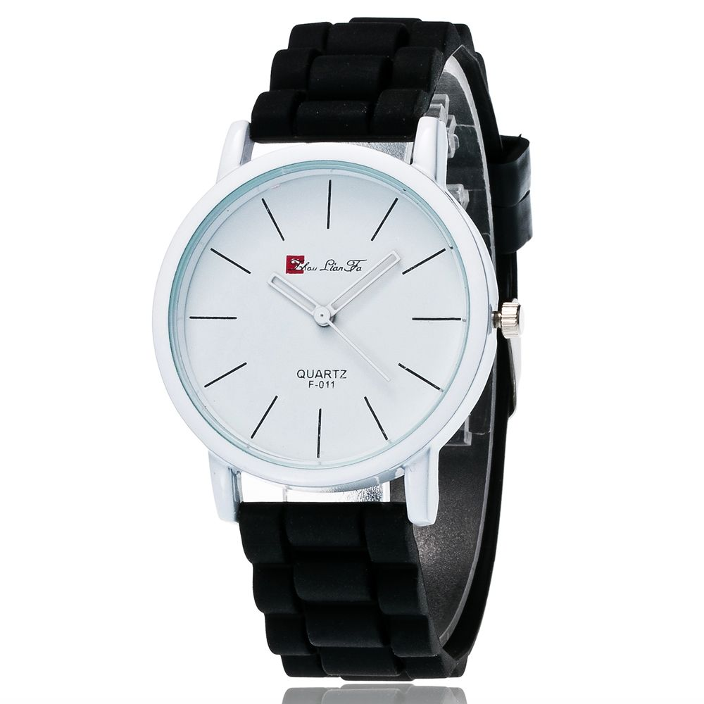 New Fashion Quartz Watch Men and Women Pop Style Silicone Strap Neutral Watch with Gift Box