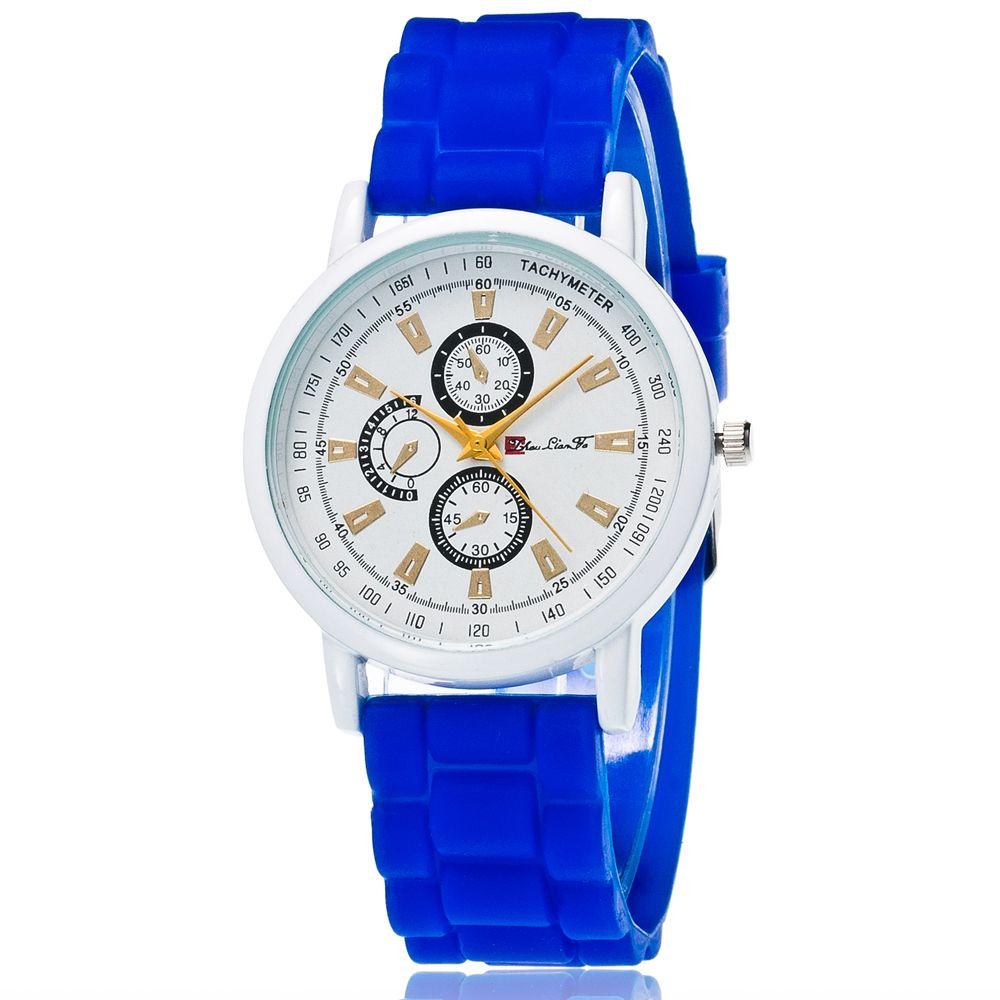 New Popular Quartz Watch Fashion Minimalist Style Silicone Strap Classic Watch with Gift Box