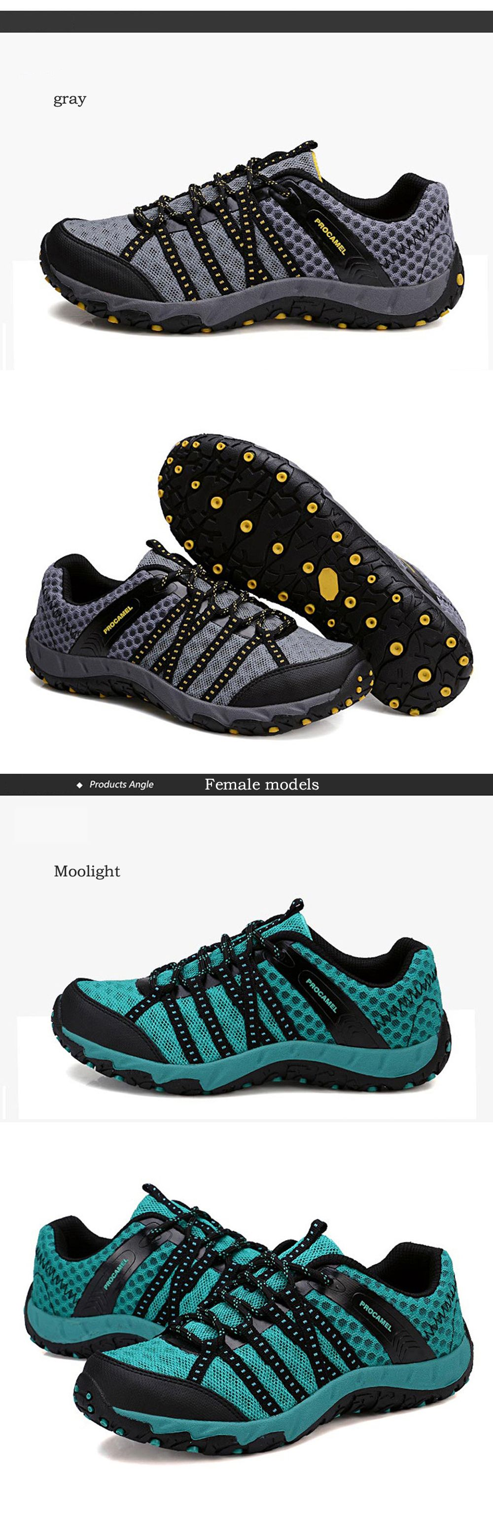 Autumn Outdoor Air Snow Mountain Hiking Shoes Cloth Shoes Water Speed Interference