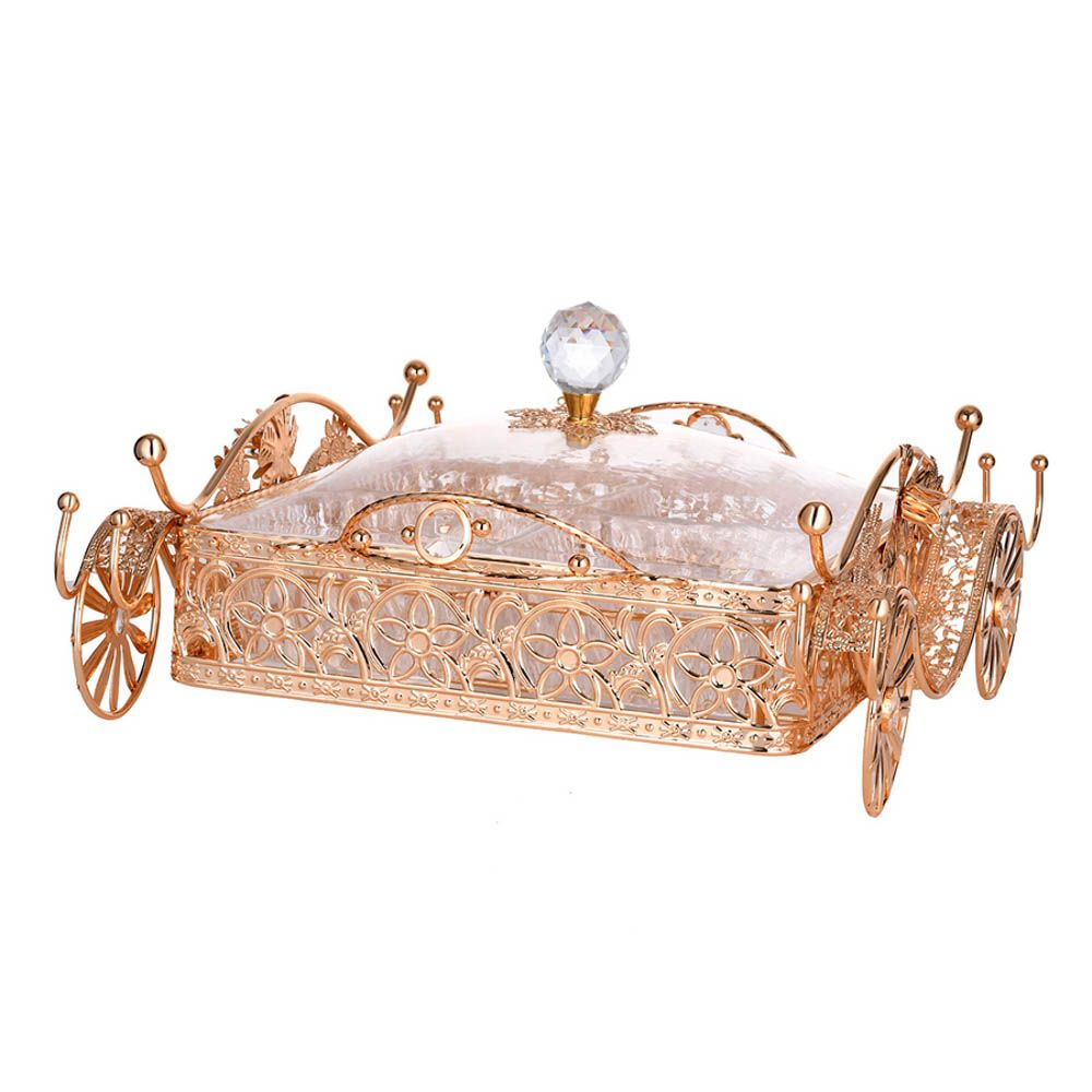 Exquisite metal hollow with a fruit tray fruit basket hotel appliancesSGL01-4