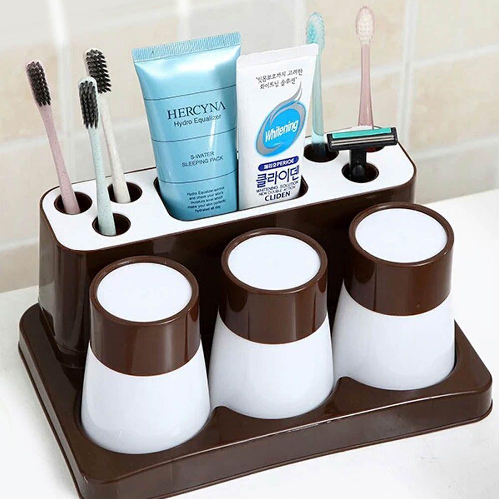 Toothbrush toothpaste creative bathroom set storage box SHYP06