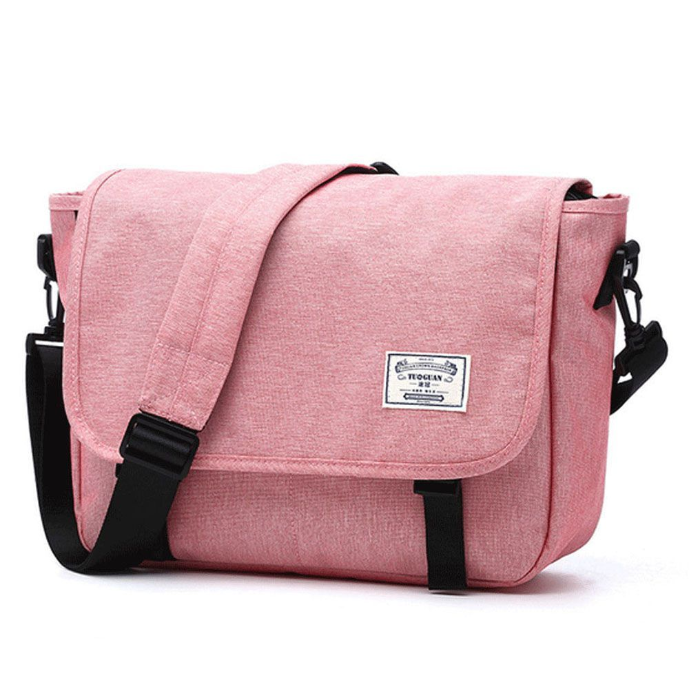 Waterproof Canvas 14 Inch Messenger Bag Corss Body Bag