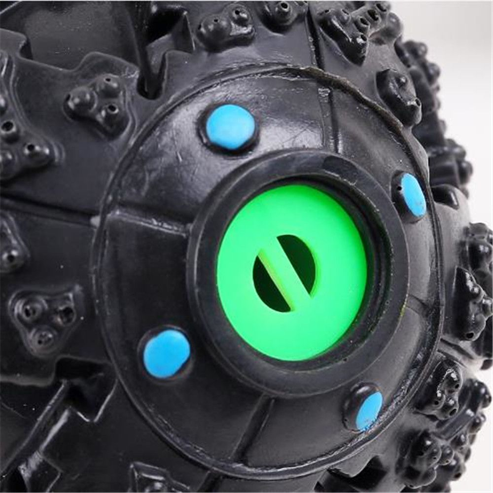 10 CM Hot Sound Leakage Food Ball Dog Toy Pet Shrieking Ball Puzzle Resistant Teeth Bite Toys