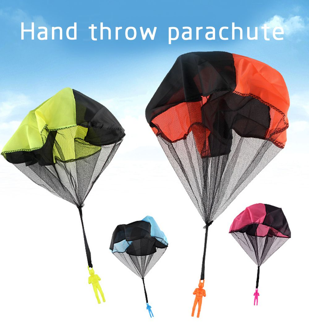 Children Throwing Soldiers Parachute Chamber Outdoor Sports Strange New Toy