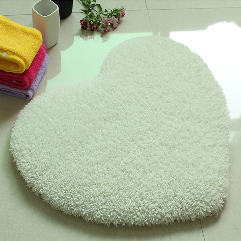 Door Mat Sweet Heart Shape Cute Home Decor Floor Mat4