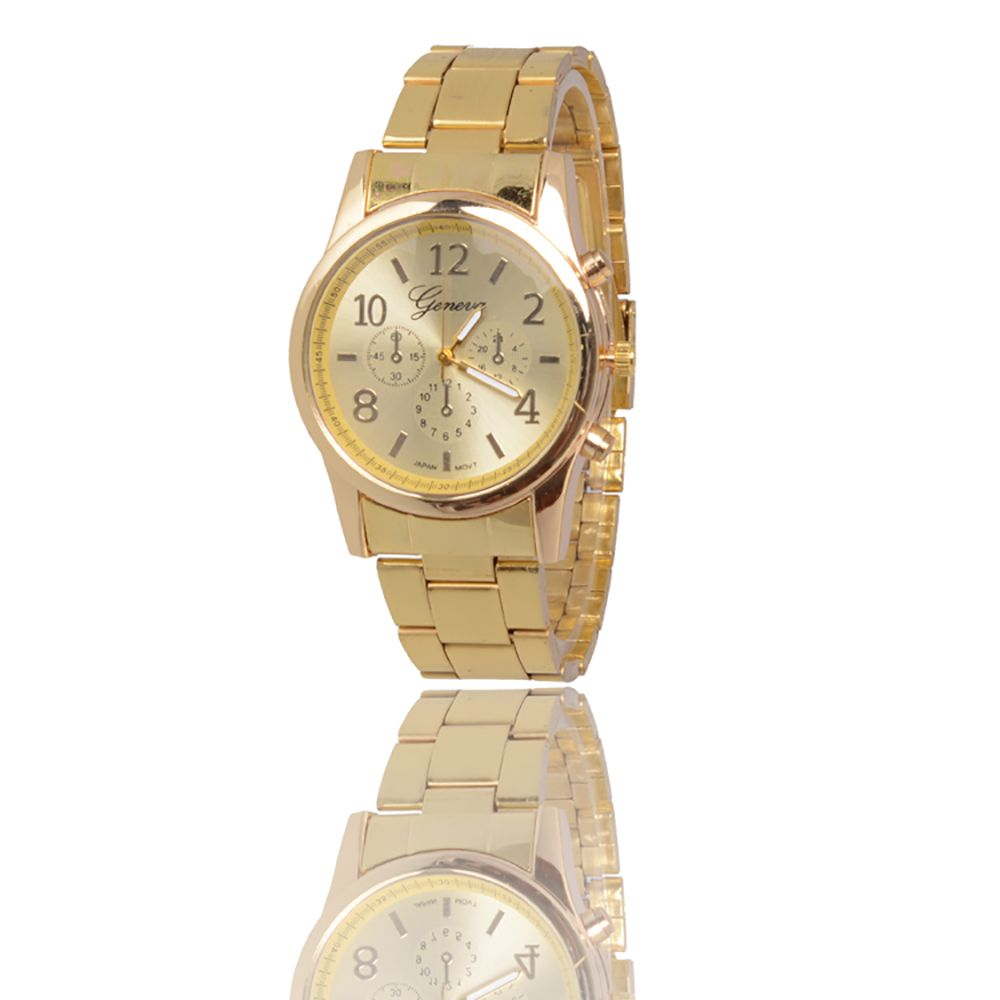 New Popular Fashion Personality Quartz Watch Men and Women Business Style Strap Neutral Watch with Gift Box