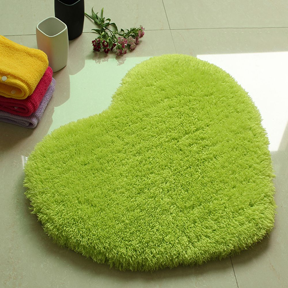 Door Mat Sweet Heart Shape Cute Home Decor Floor Mat5
