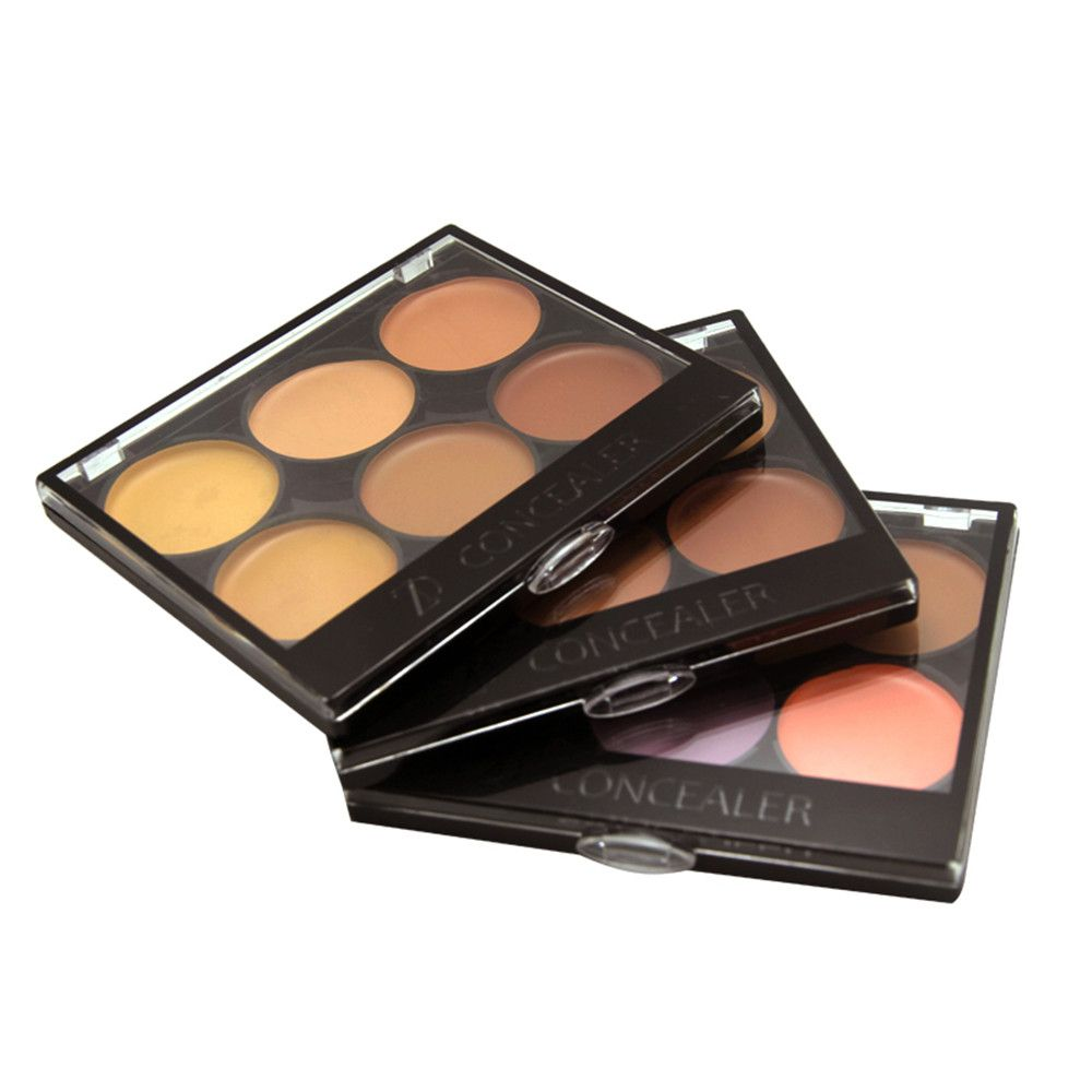 ZD F2024 6 Colors Concealer Face Makeup 3pcs