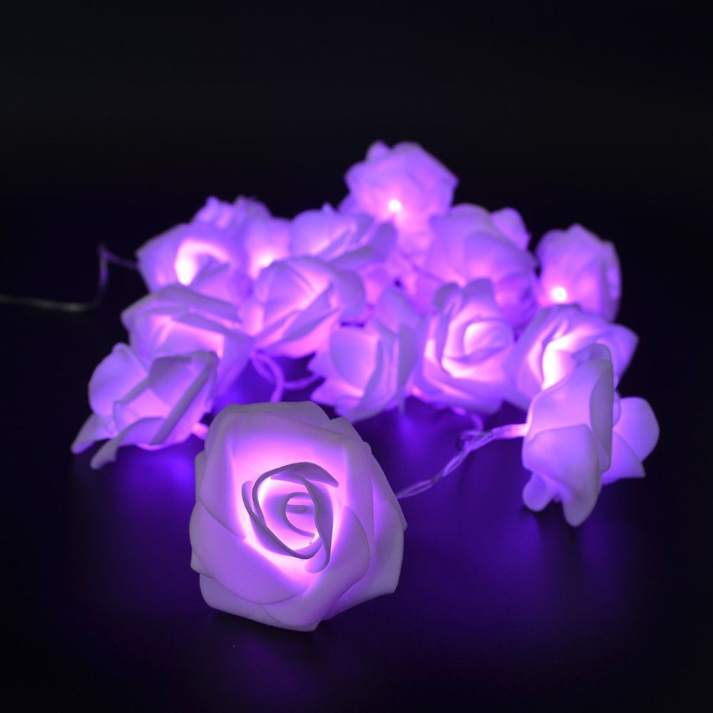 BRELONG LED Rose  String Lights Holiday party Christmas decoration lights 20LED