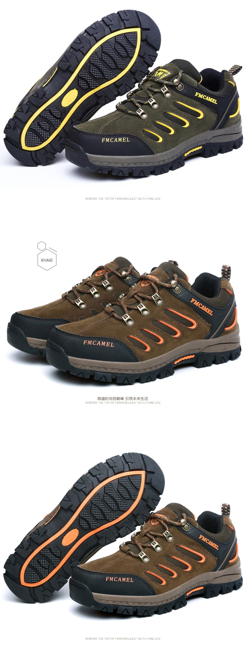 2017 New Autumn Hiking Shoes Male Anti-Skid Wear Men and Women Hiking Shoes Men'S Outdoor Sports Shoes