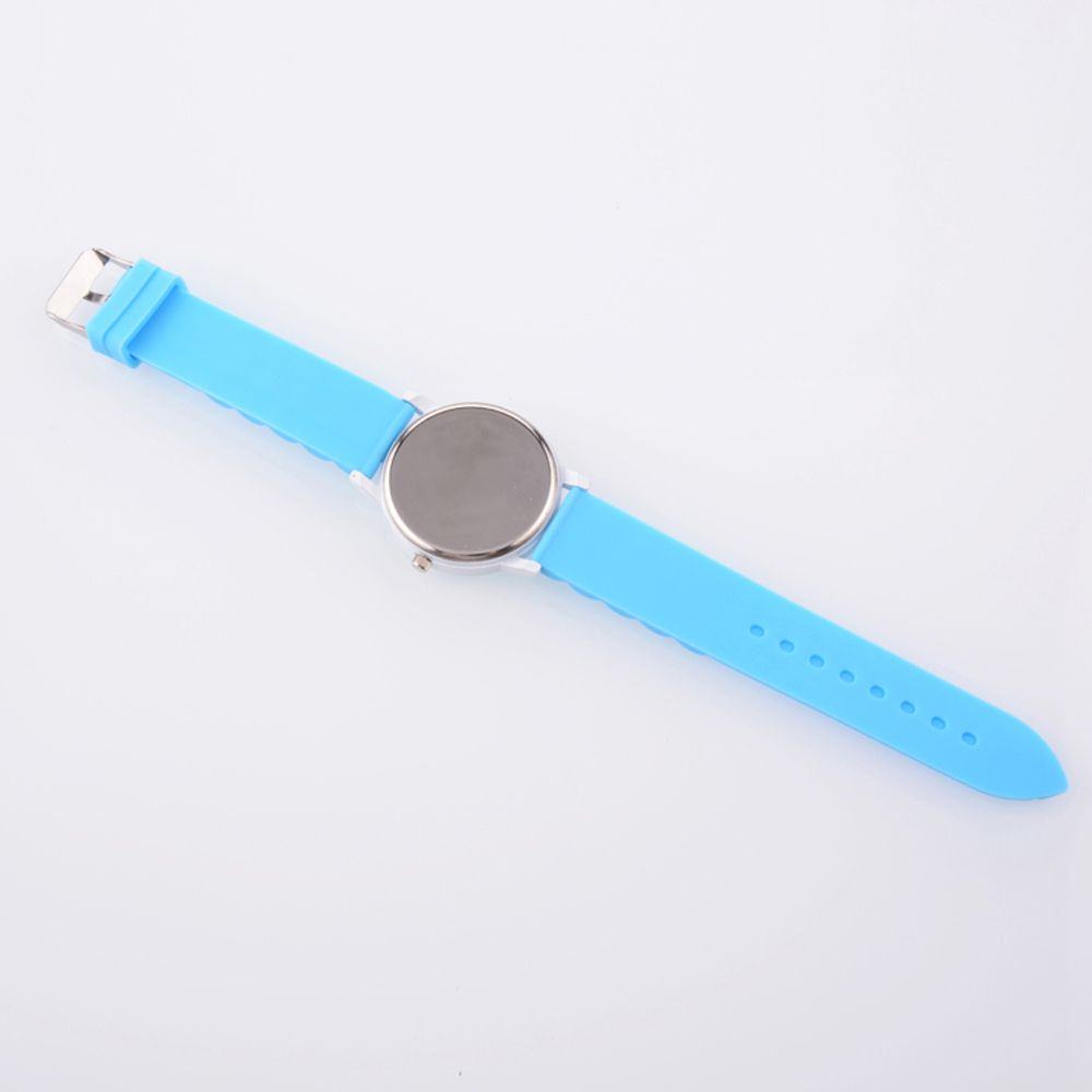 New Fashion Women'S Watch Small Fresh Style Silicone Strap Cute Digital Shades Watch with Gift Box