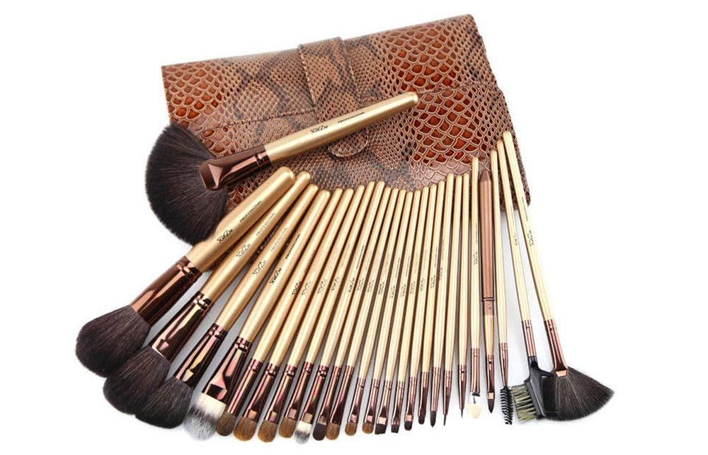 XinYiZhui 26PCS Professional Animal Hair Makeup Brush