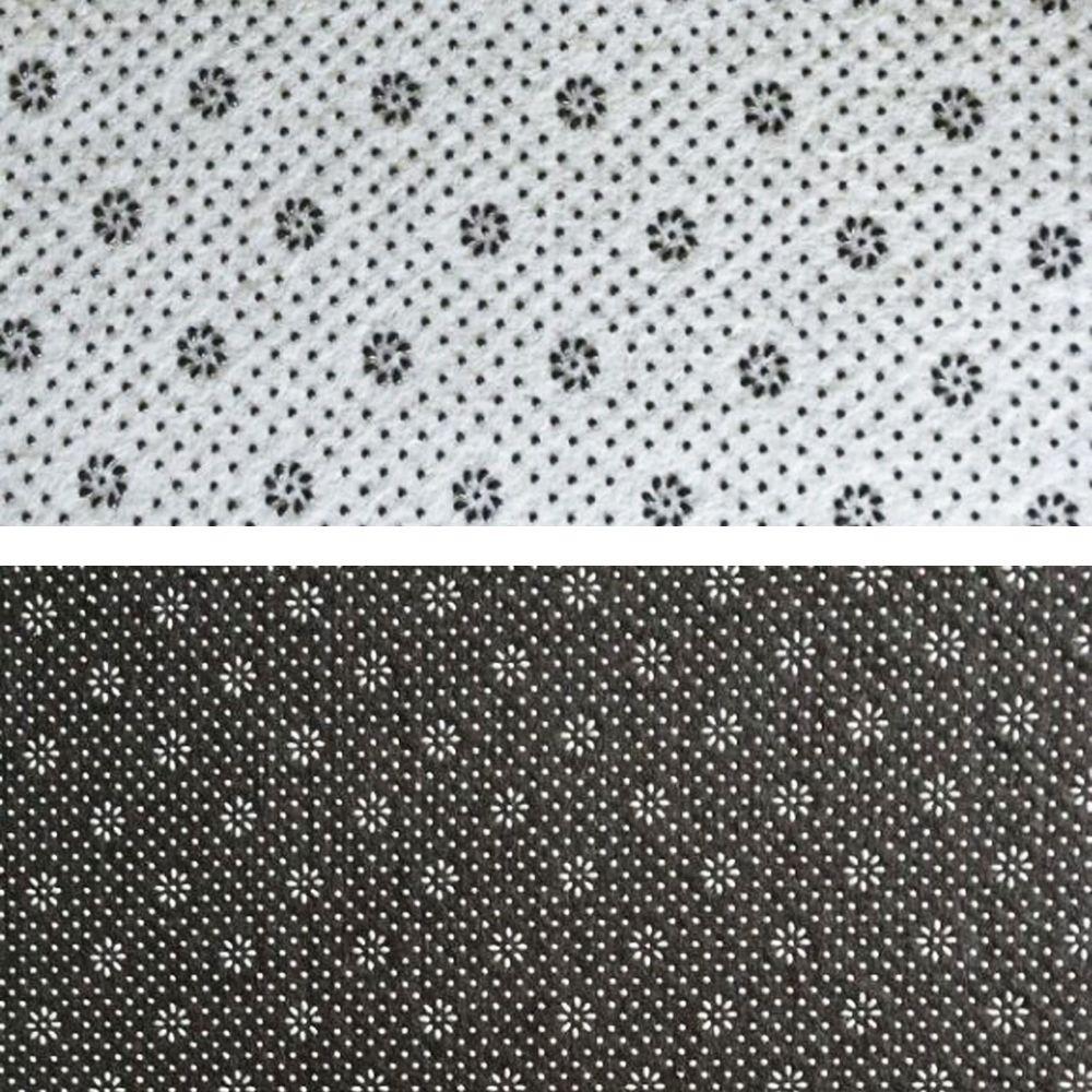 Floor Mat Modern Style Geometry Pattern Multi Colored Round Decorative Mat1
