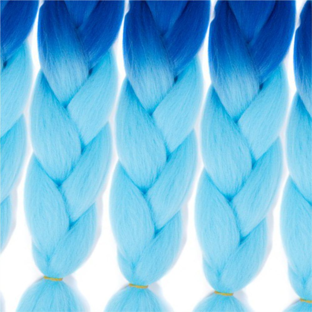 5pcs 2 Tone Ombre Jumbo Braiding Hair Extensions 24 inch Crochet Braids High Temperature Kanekalon Synthetic Fiber Twist