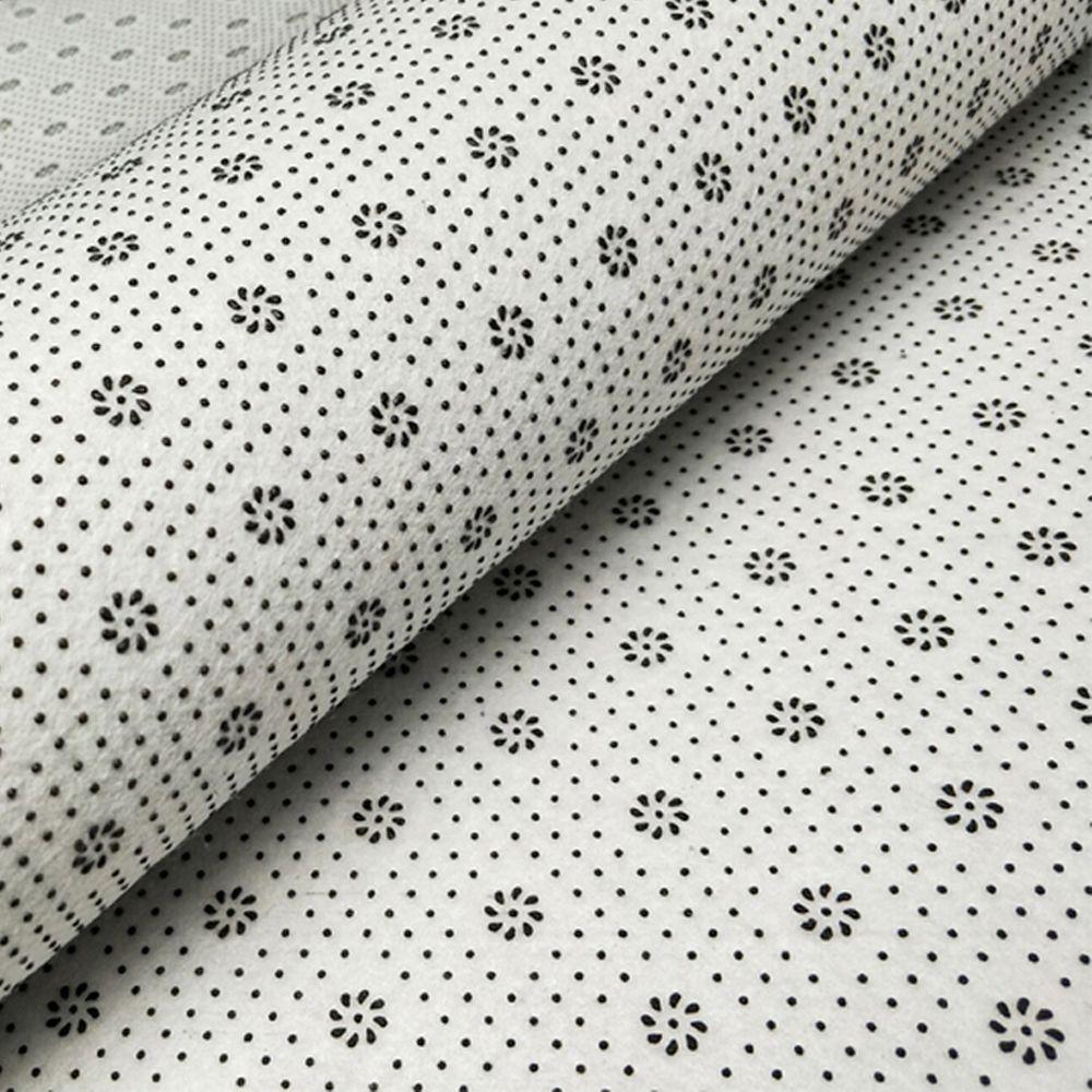 Decorative Rug Round Shaped Lemon Design Antiskid Soft Home Mat3