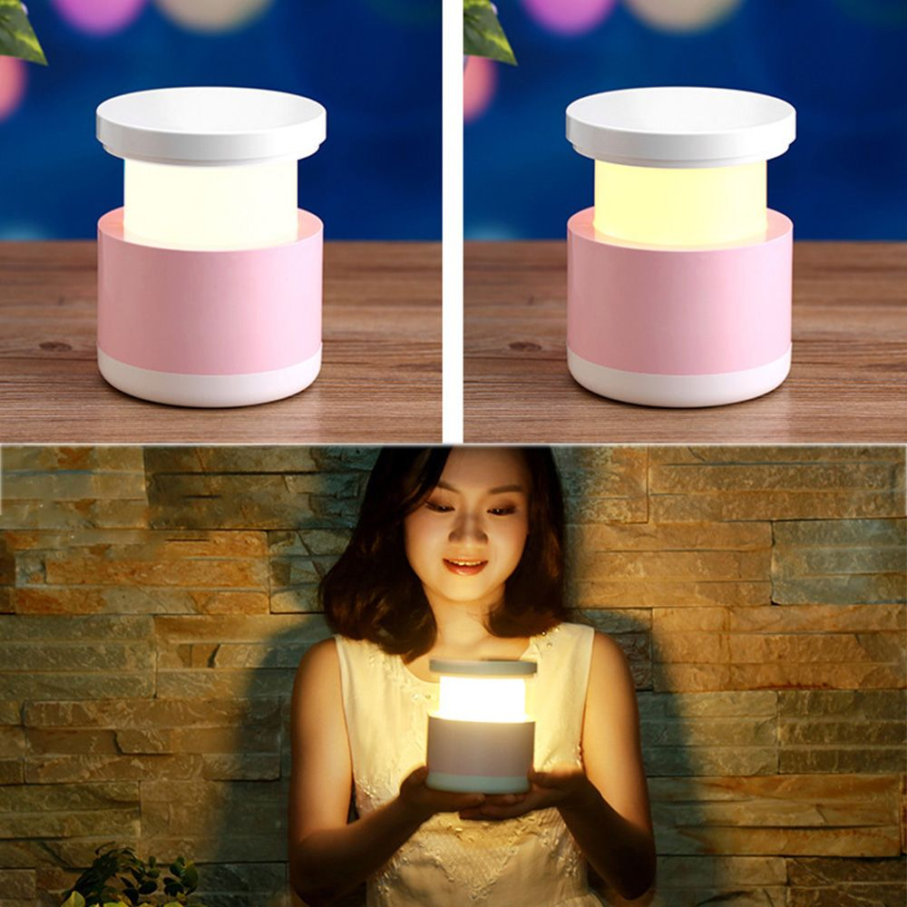 XY - YD1 Creative Colorful Telescopic LED Eye Reading Lamp Intelligent USB Warm Home Furnishing Nightlight