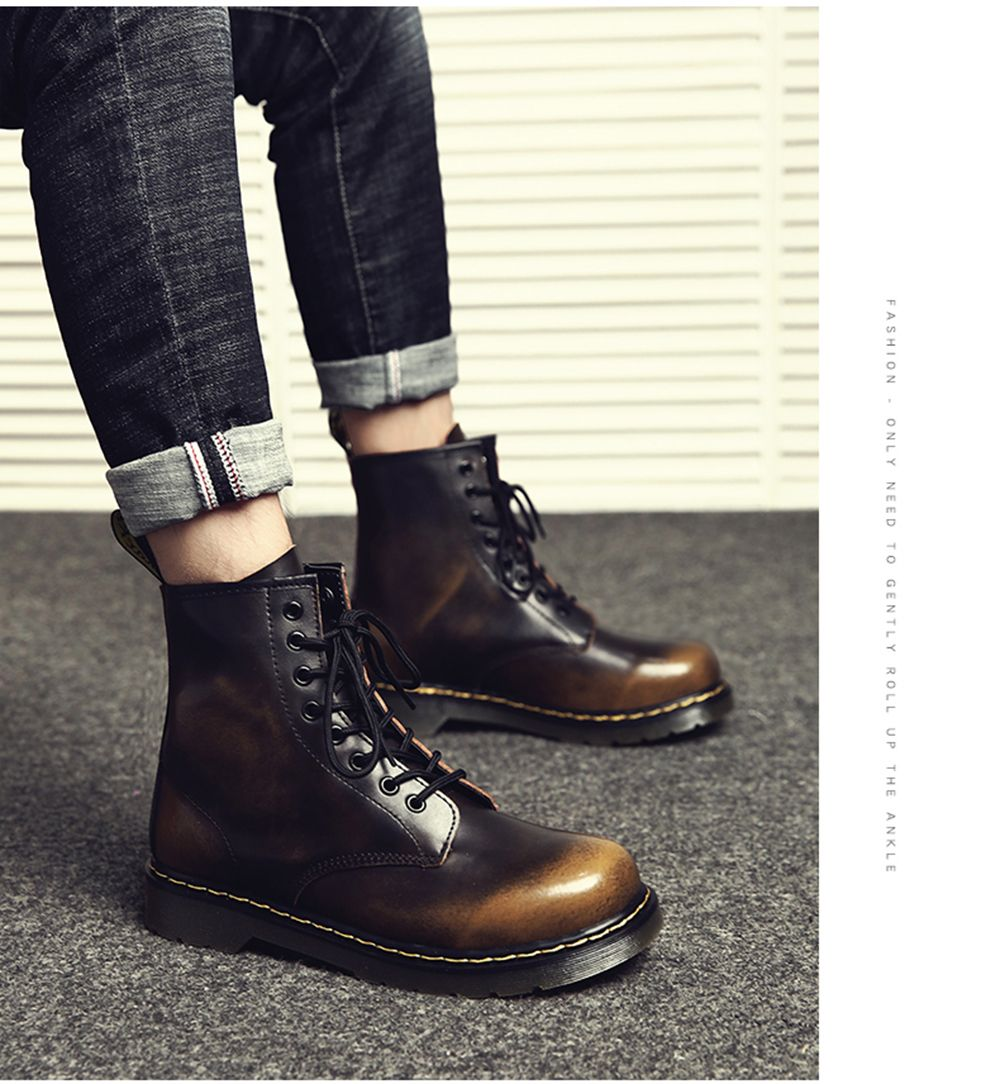 Heavy Metal Rocker Men's Boots