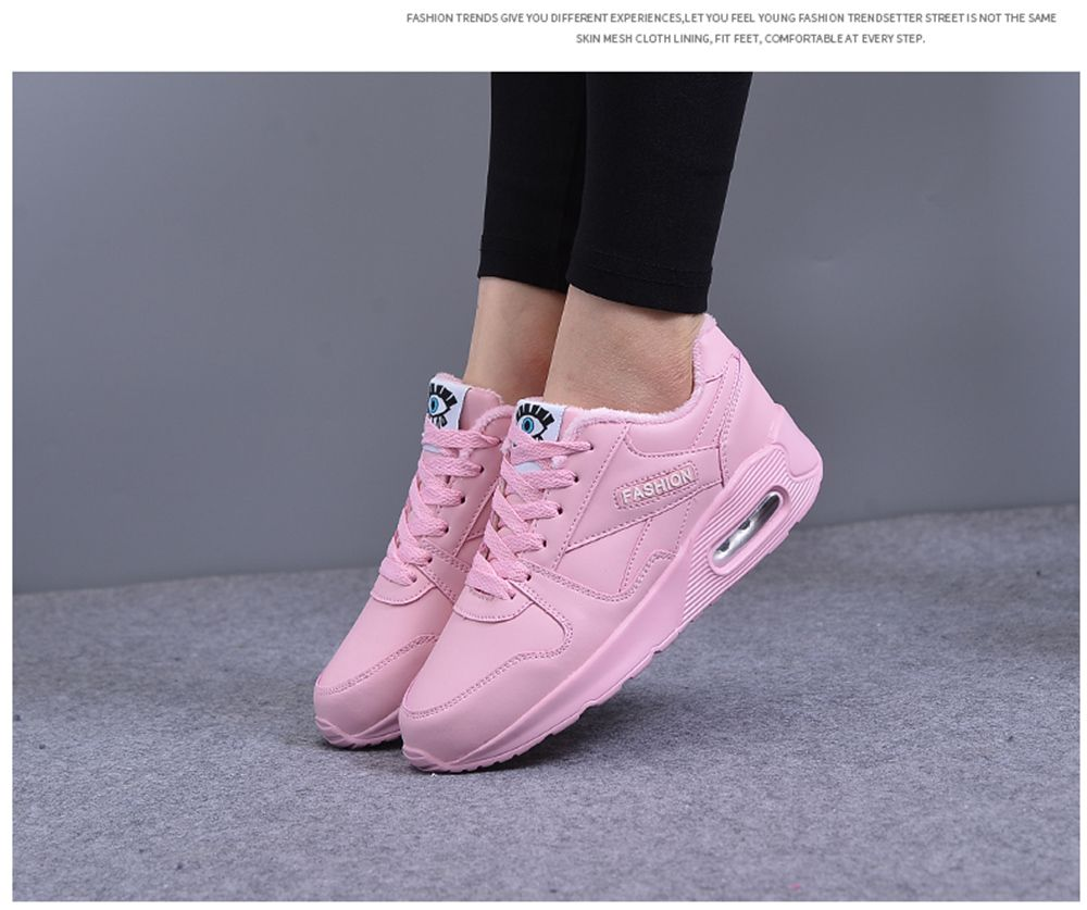 Stylish High Top and PU Leather Design Athletic Shoes for Women