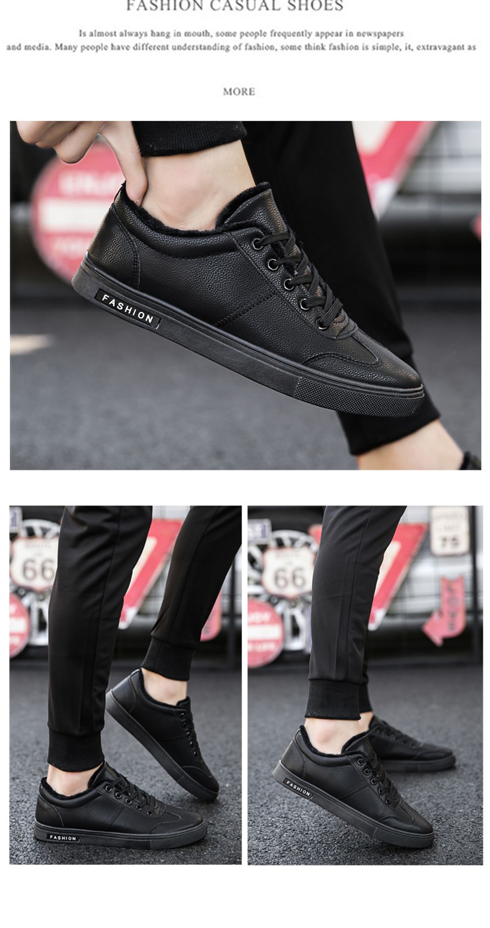 Men Casual Fashion Outdoor Indoor Flat Athletic Sneakers