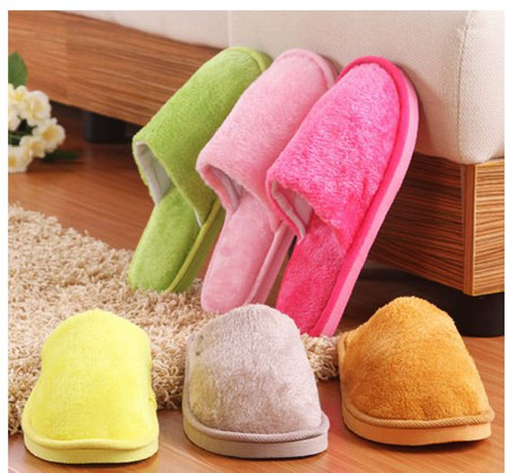The New Home-Color Lovers Cotton Slippers