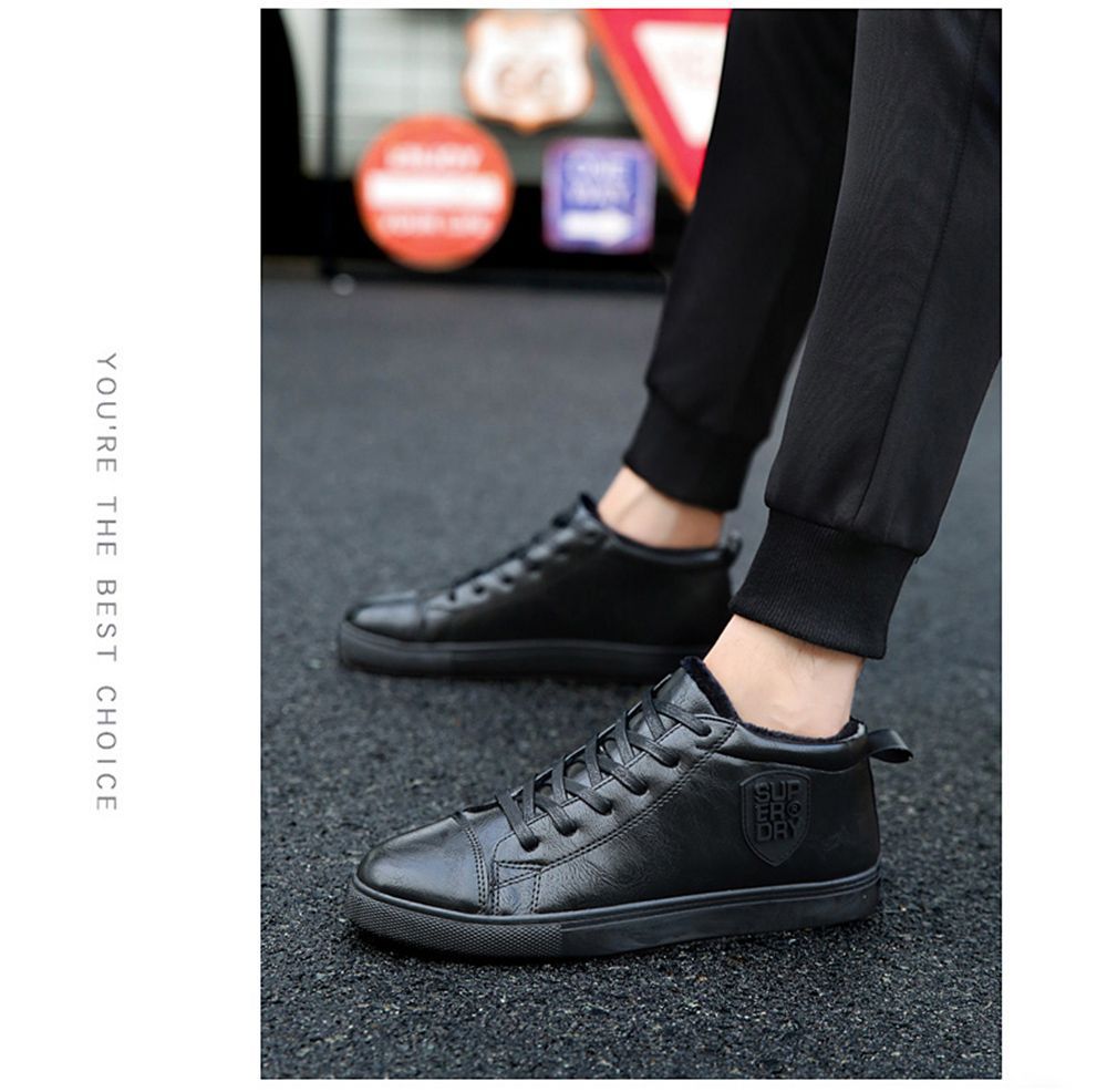 Male Breathable Wearable Lace up Casual Shoes