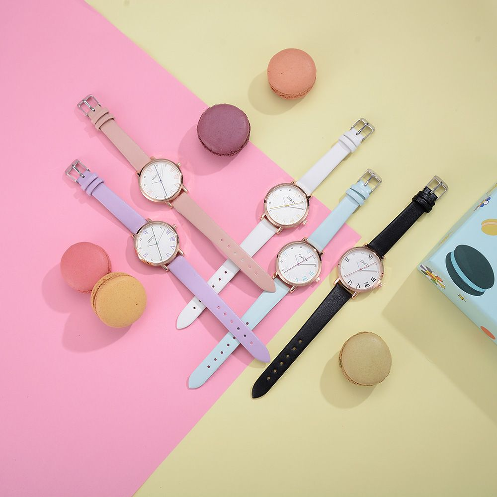 GAIETY G481 Ladies Fashion Leather Quartz Watch