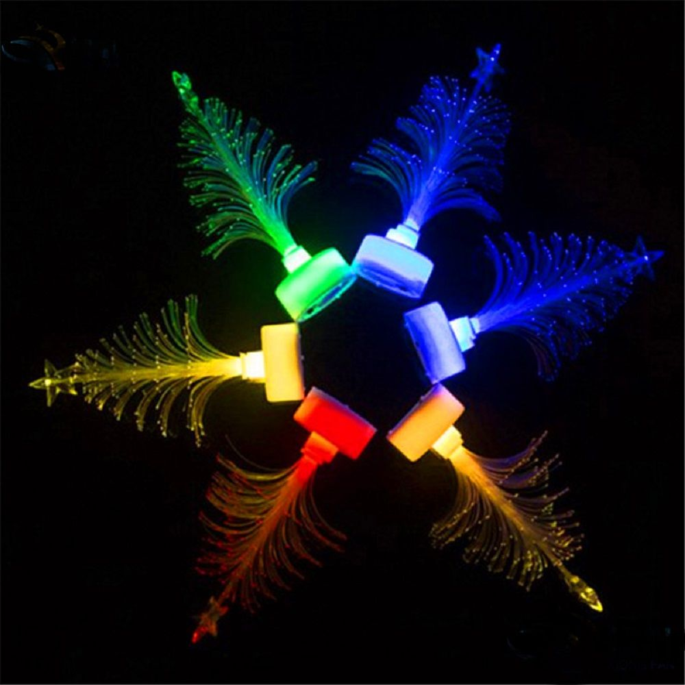 Fiber Optic Christmas Tree Mini LED Christmas Tree