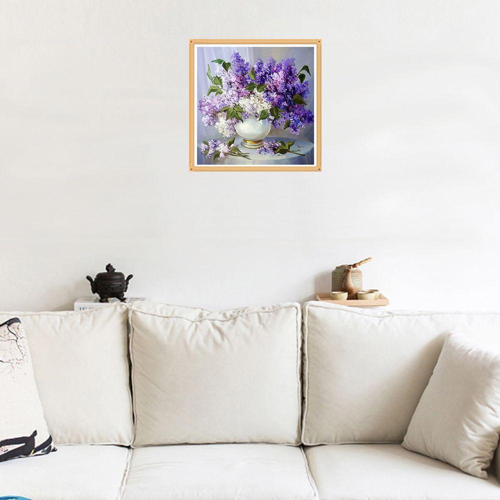 Naiyue 7080 Lavender Print Draw Diamond Drawing