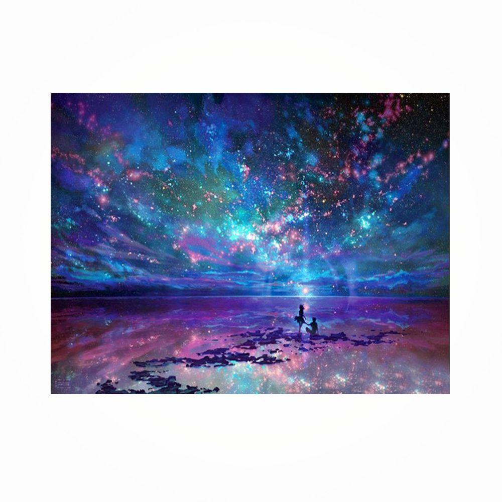 Naiyue 9497 Night Sky Print Draw Diamond Drawing