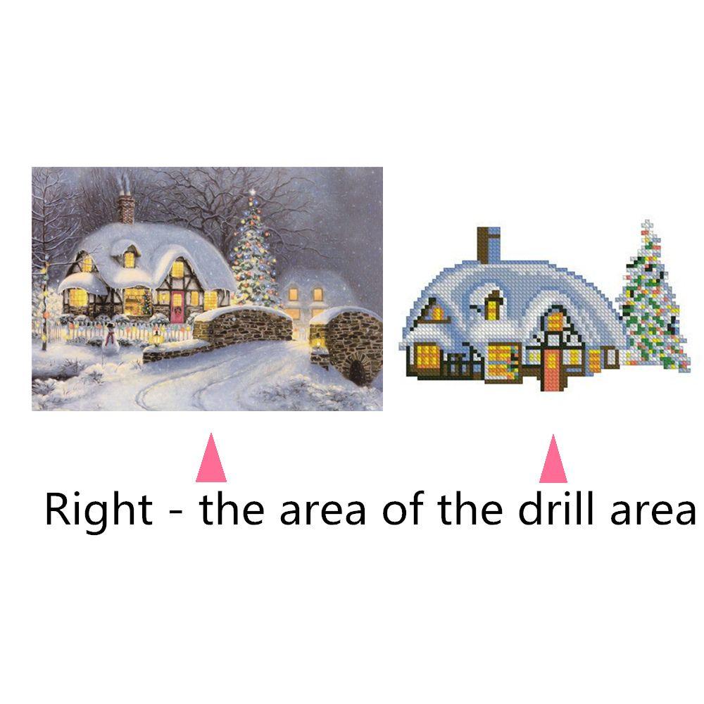 Naiyue 7133 The Night Is Snow Print Draw Diamond Drawing