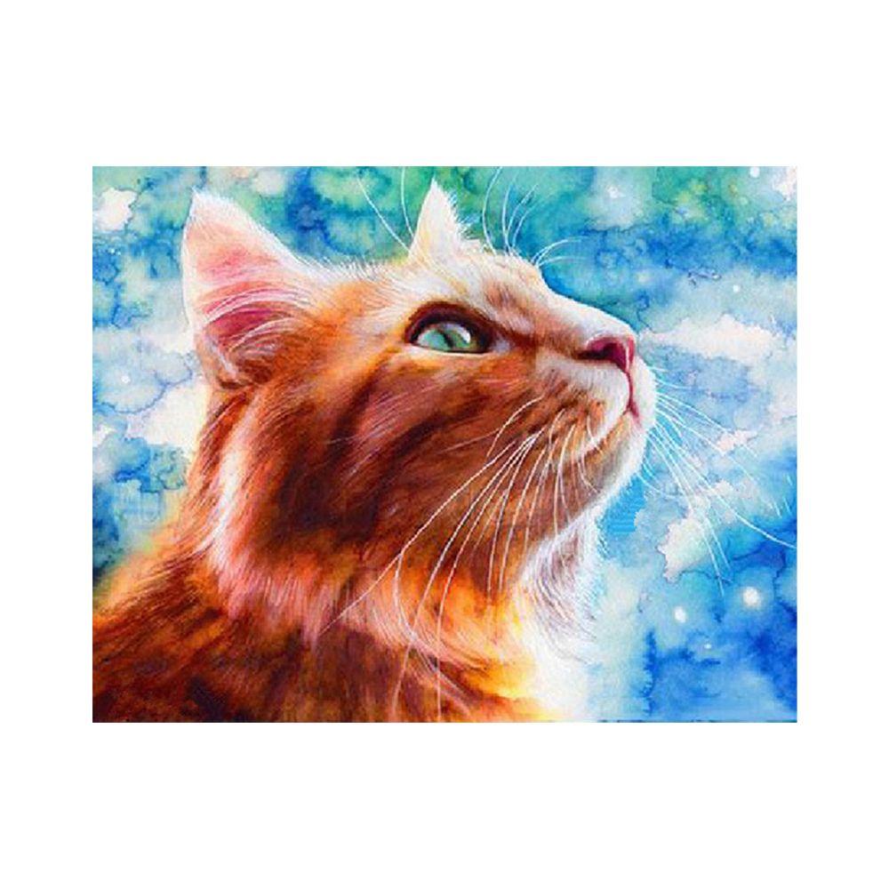 Naiyue 9011 Cat Print Draw Diamond Drawing