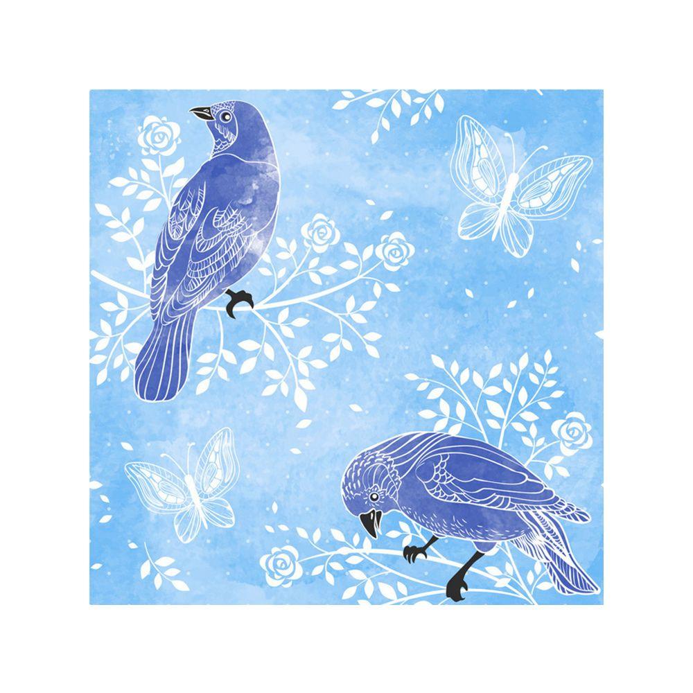 Naiyue 9014 Two Birds Print Draw Diamond Drawing