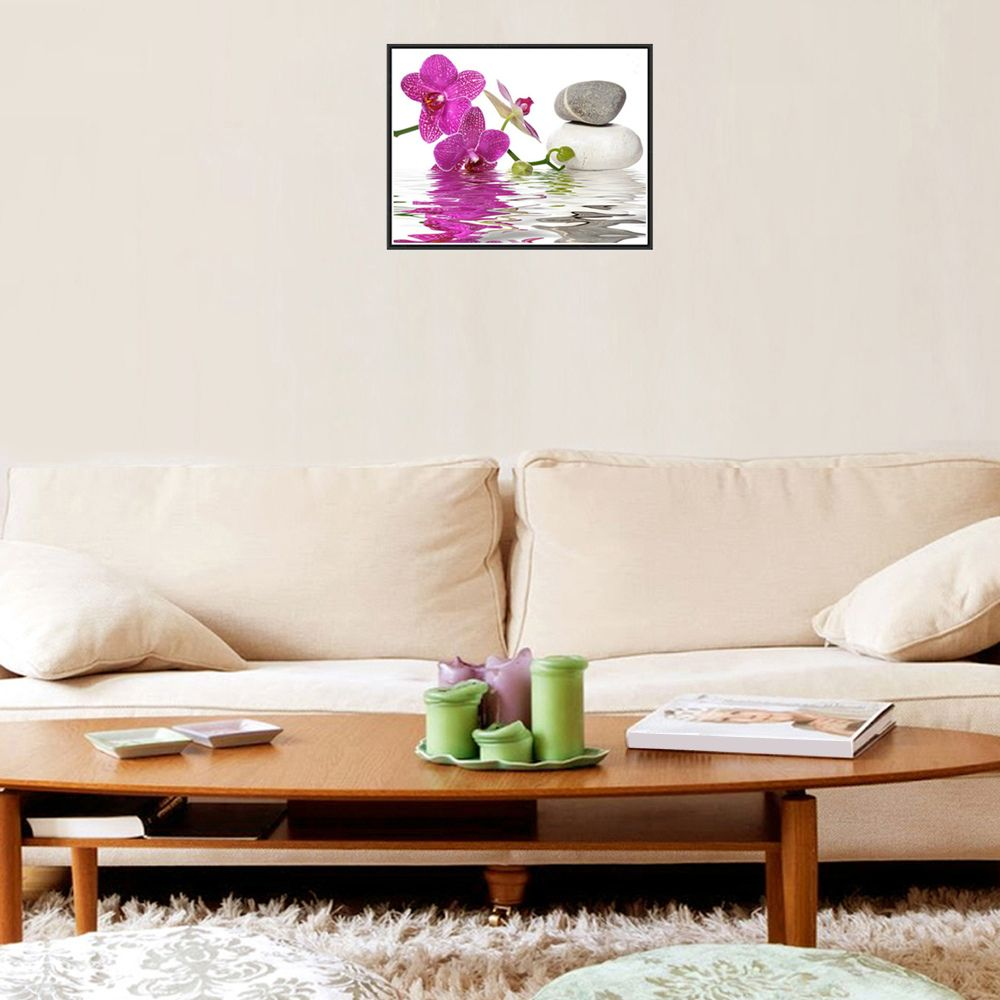Naiyue 7149 Reflection Flowers Print Draw Diamond Drawing