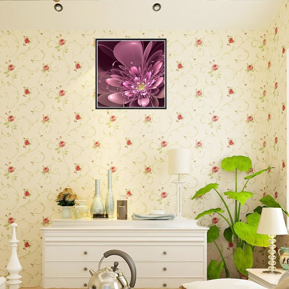 Naiyue 7150 Dazzle Colour Flower Print Draw Diamond Drawing