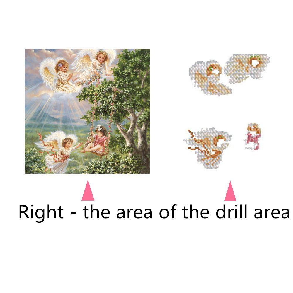 Naiyue 7160 Little Angel Print Draw Diamond Drawing