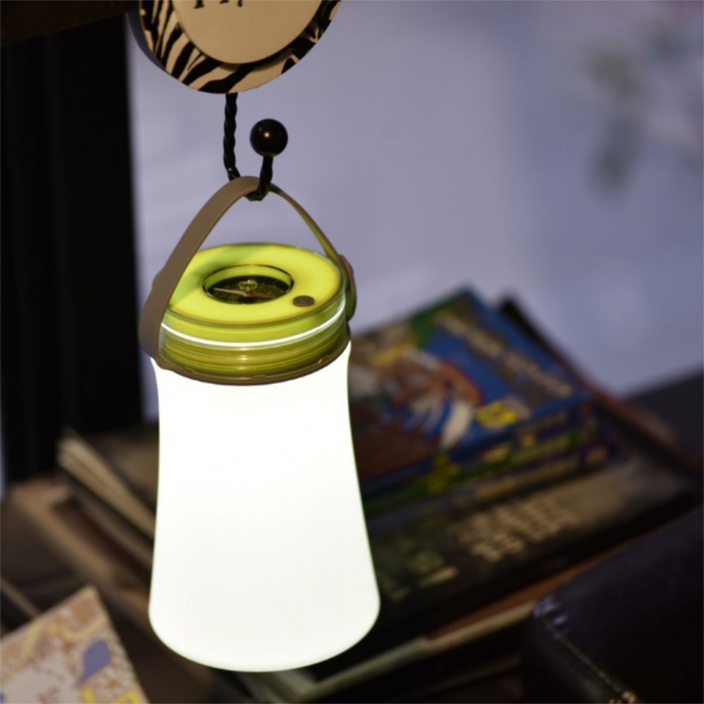 Portable Silicone Night Lamp Charging Receiving LED Multi Function Outdoor Camping Compass