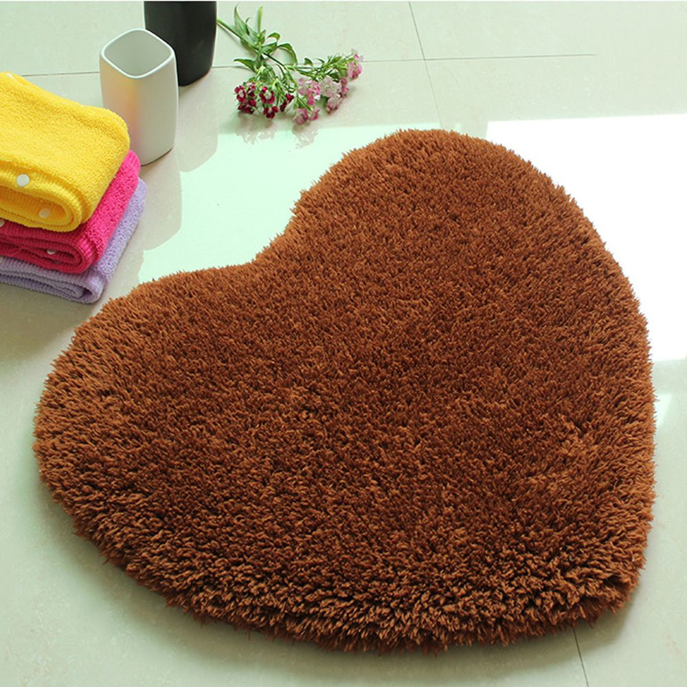 Door Mat Sweet Heart Shape Cute Home Decor Floor Mat2