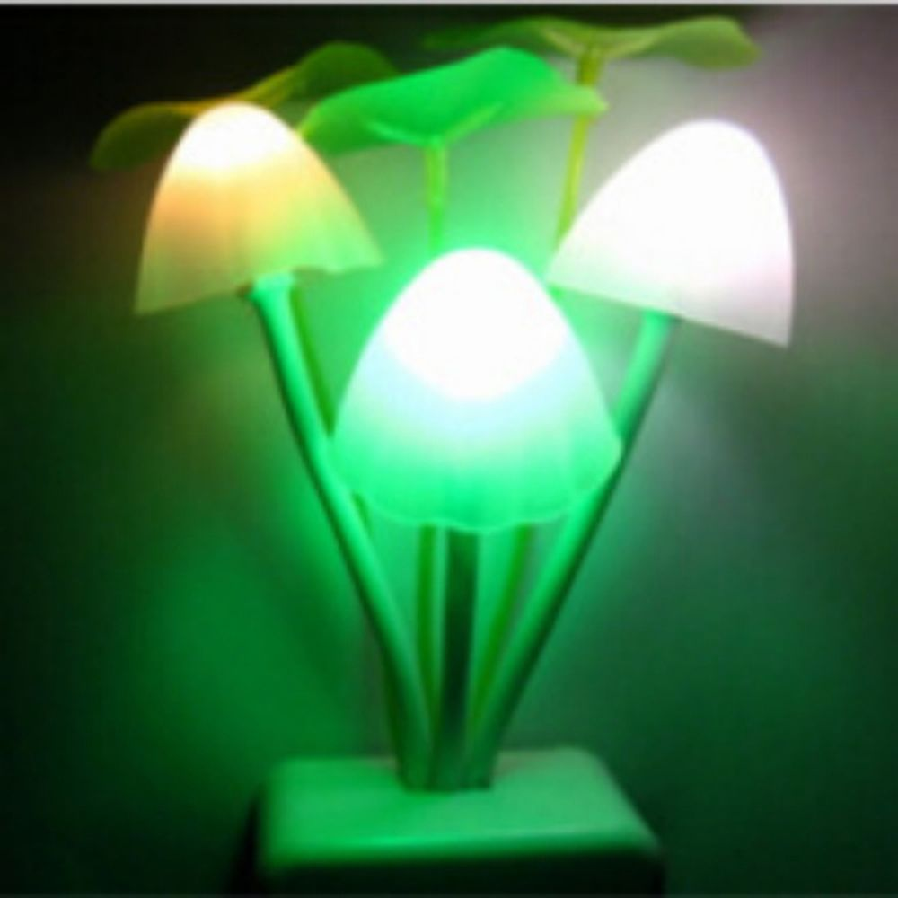 Mushroom Colorful Light Control LED Night Light