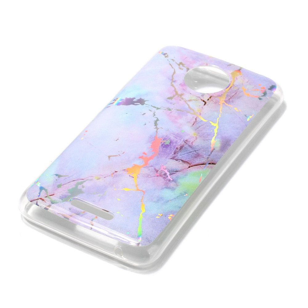 New Soft TPU case Brocatel Marble for Moto C