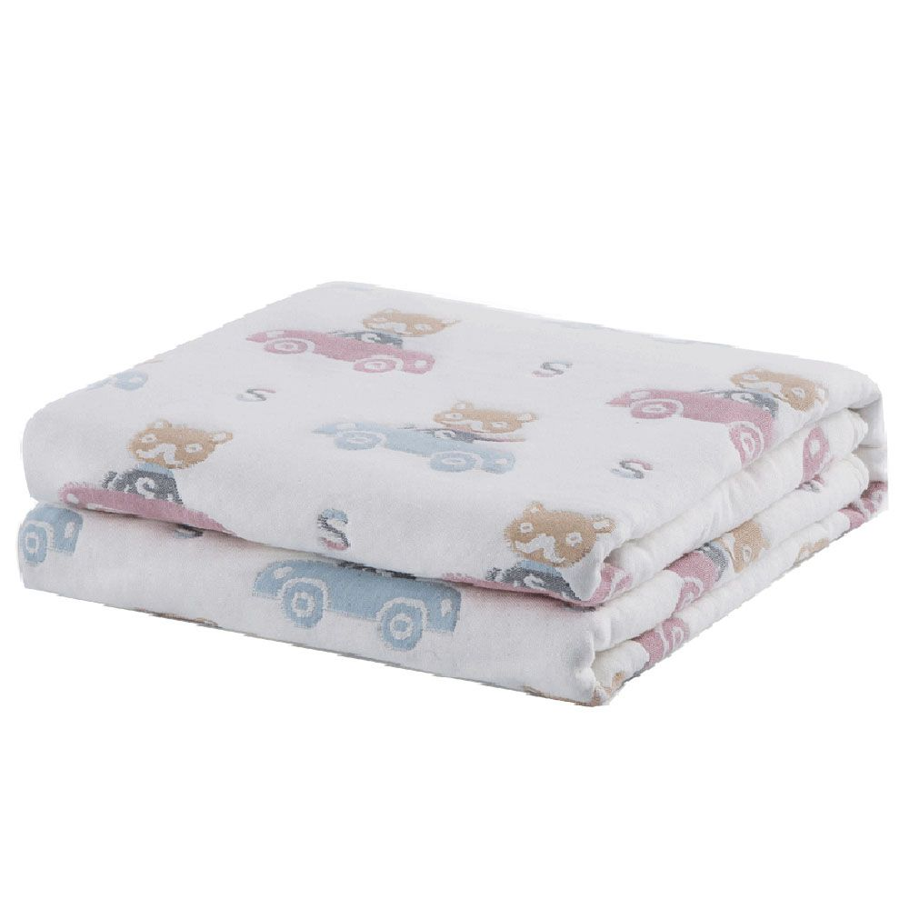 100 Percent Muslin Cotton Baby Gauze Swaddle Baby Receiving Blanket