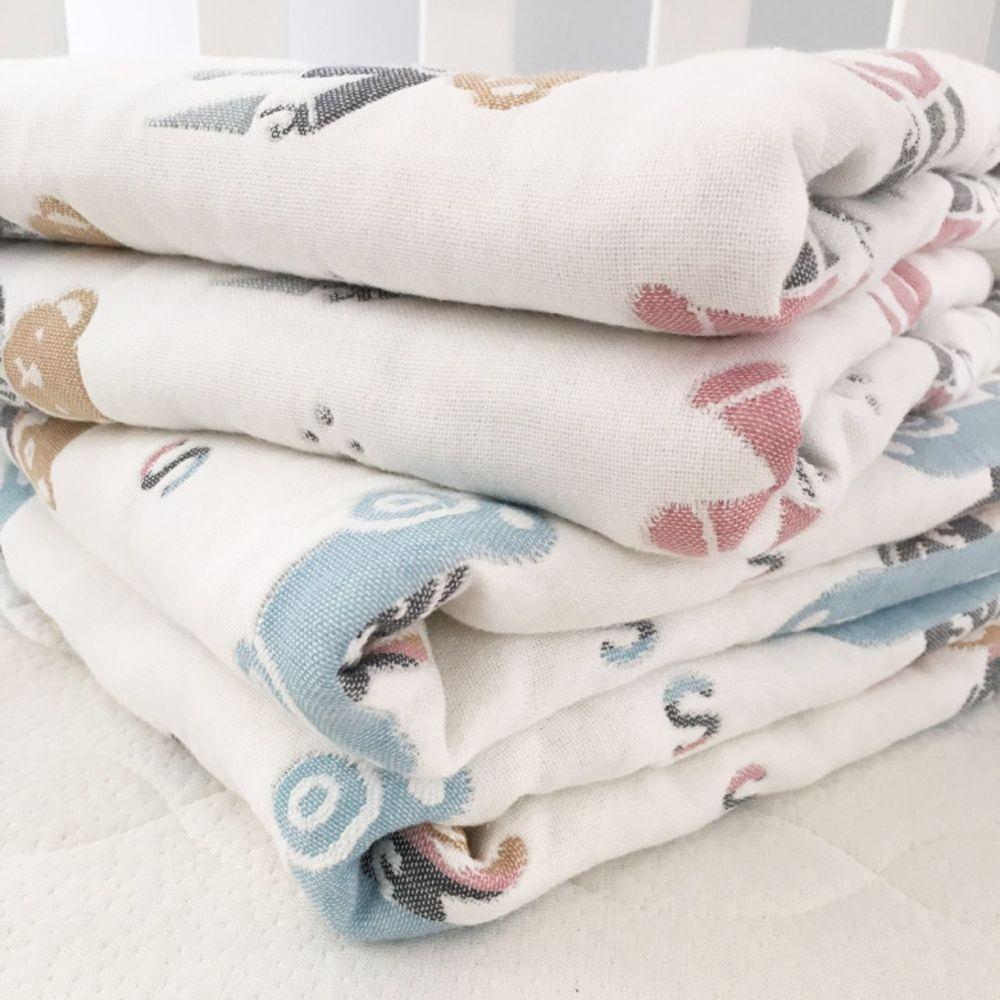100 Percent Muslin Cotton Baby Gauze Swaddle Baby Receiving Blanket