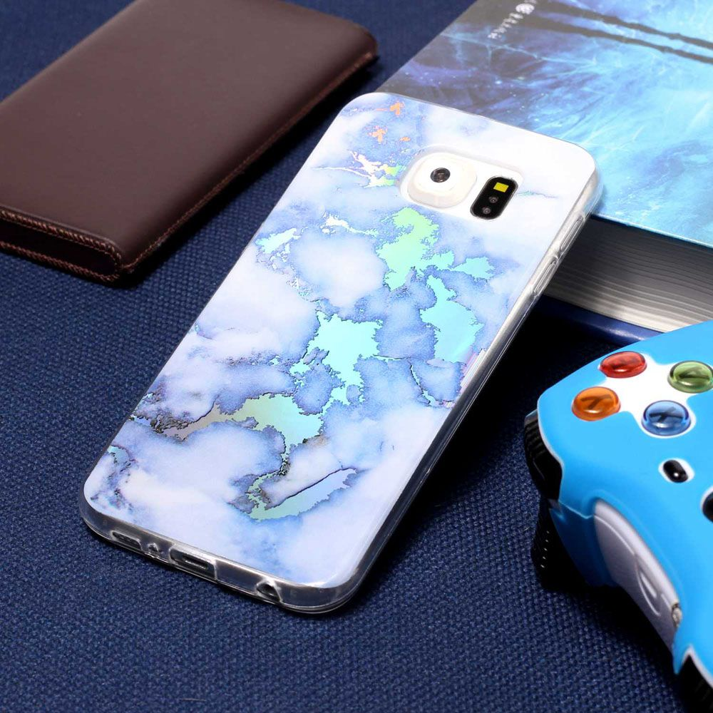 Luxury Ultra Thin Soft TPU Marble Case for Samsung Galaxy S6