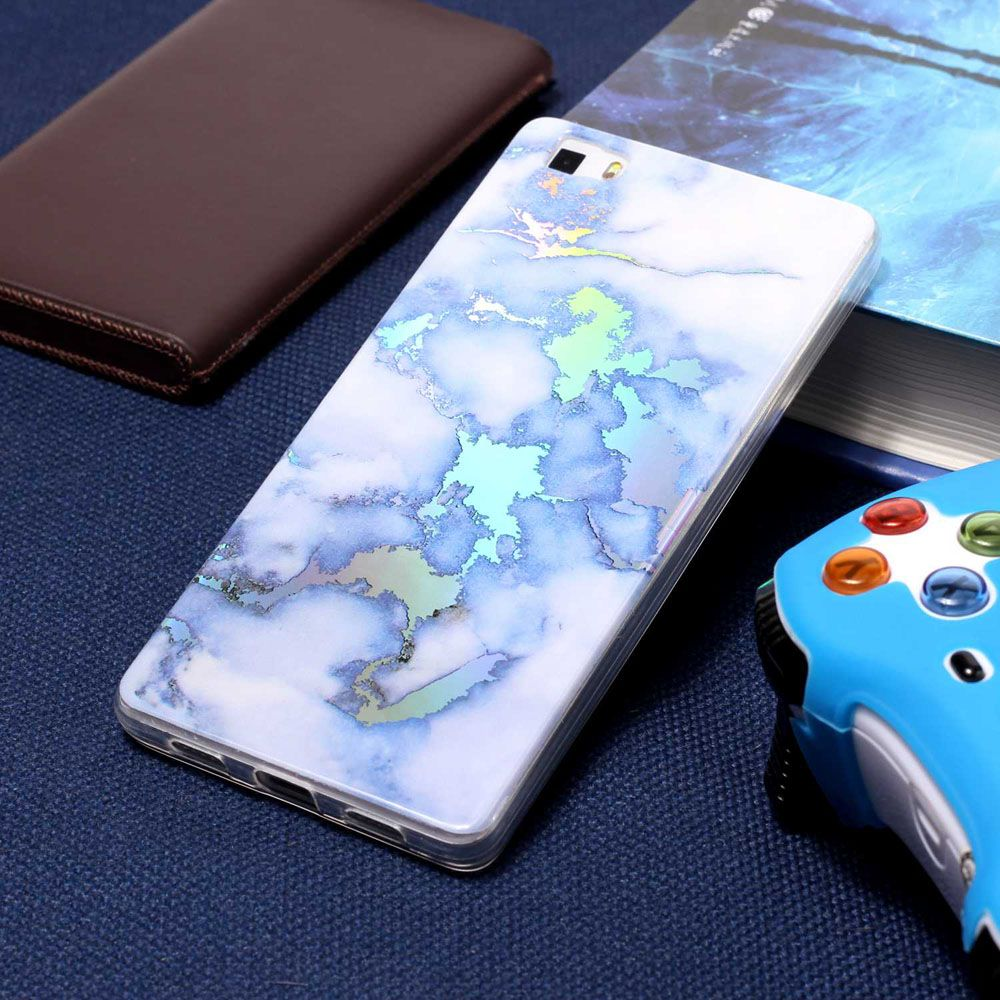 Luxury Ultra Thin Soft TPU Marble Case for Huawei P8 Lite